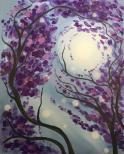The image for KIDS ART CAMP - Lilac Sky - Painting on canvas