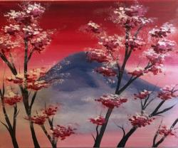 The image for **30%**OFF**SALE** Cherry Blossom Mountain