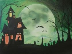 The image for Halloween House