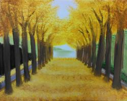 The image for Yellow Tree Tunnel