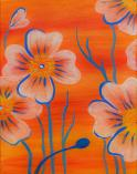 The image for Orange Poppies - $25 ONLY - October special