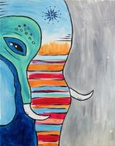 The image for Colorful Elephant