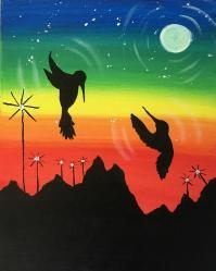 The image for Hummingbird Silhouettes