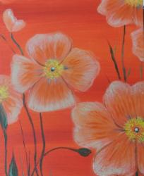 The image for Orange Poppies