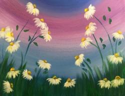 The image for White Daisies - $25 ONLY – October special
