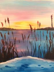 The image for Winter Cattails
