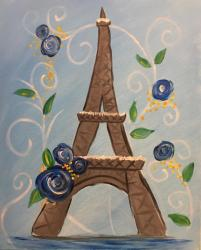 The image for KIDS CAMP - Floral Eiffel Tower