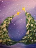 The image for KIDS ART CAMP - Dancing Christmas Tree - Painting on canvas