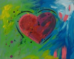 The image for Family Friendly - Big Abstract Heart (Age +7)