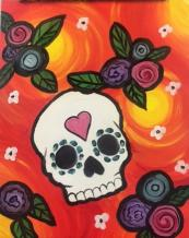 The image for Sugar Skull - $25 ONLY - October special