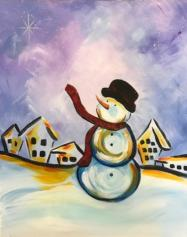 The image for KIDS ART CAMP - Dashing Thru Town - painting on canvas