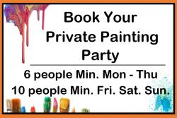 The image for Book a Private Event- click for Details