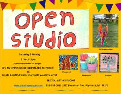The image for Winter Break - Open Studio for Kids and Adults
